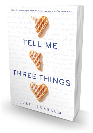 Blog Tour: Tell Me Three Things by Julie Buxbaum – Review
