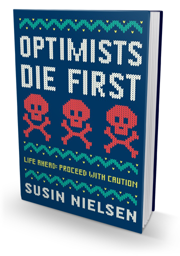 Reminicient of Breakfast Club: Optimists Die First by Susin Nielsen