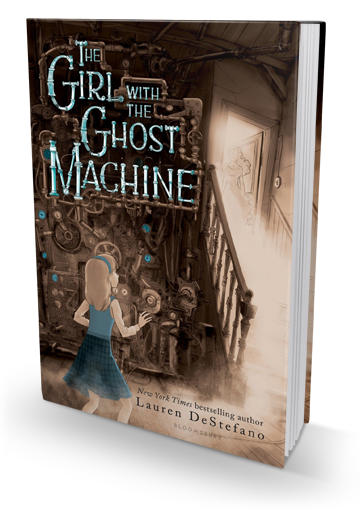 A Powerful Novel about Grief: The Girl with the Ghost Machine by Lauren DeStefano