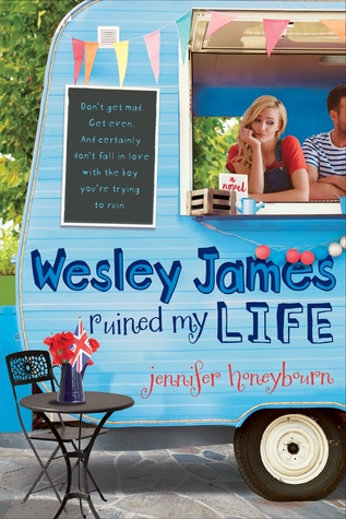 Book Aesthetic: Wesley James Ruined My Life by Jennifer Honeybourne