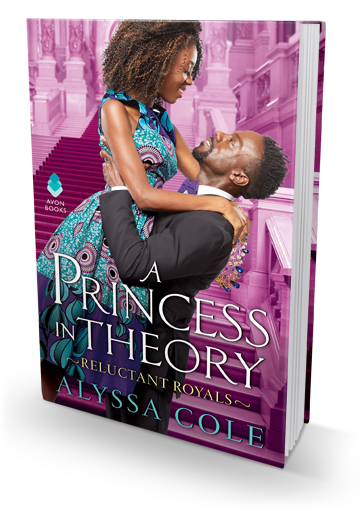 The Royal Romance I Didn't Know I Needed: A Princess in Theory by Alyssa Cole