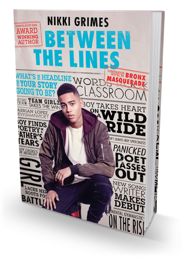 Blog Tour: Between the Lines by Nikki Grimes