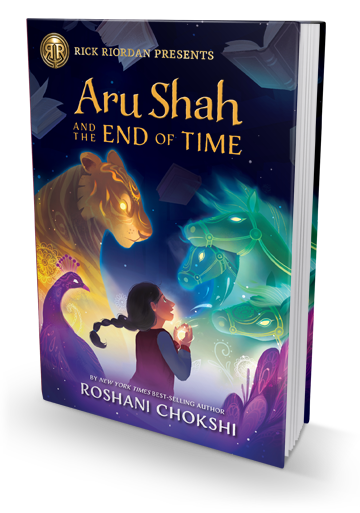 The Book I Wish I Had When I Was in Middle School: Aru Shah and the End of Time by Roshani Chokshi