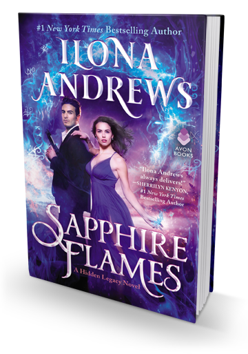A Promising Spin Off: Sapphire Flames by Ilona Andrews