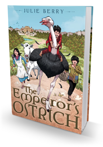 The Princess Bride Meets The Emperor's New Groove: The Emperor's Ostrich by Julie Berry