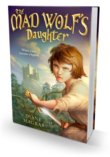 A Fierce Adventure: The Mad Wolf's Daughter by Diane Magras