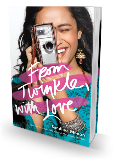 Imperfect but 100% Lovable: From Twinkle, With Love by Sandhya Menon