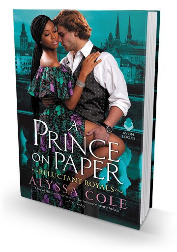 Relevant, Funny and Swoony: A Prince on Paper by Alyssa Cole