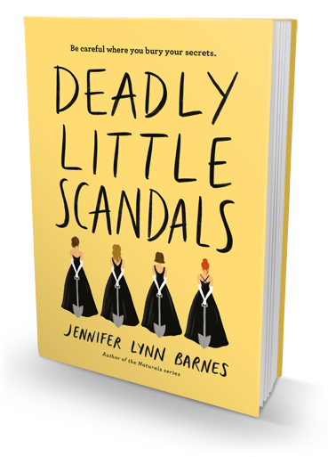 Pulls No Punches: Deadly Little Scandals by Jennifer Lynn Barnes