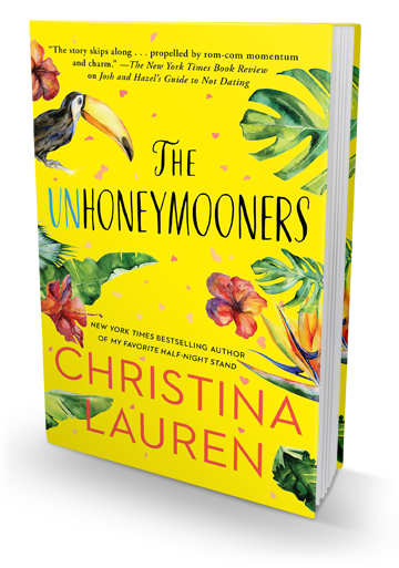 An Adorable Rom-Com: Unhoneymooners by Christina Lauren